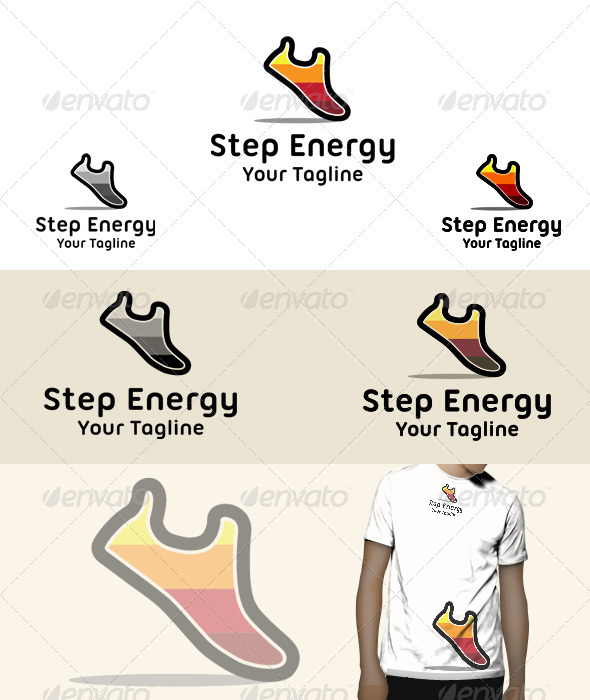 Step Energy - Symbols Logo Templates