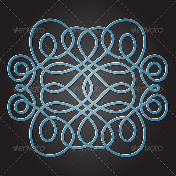 Decorative Knot - Decorative Symbols Decorative