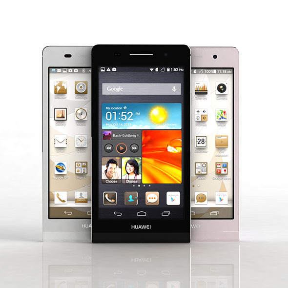 Huawei Ascend P6 - 3DOcean Item for Sale