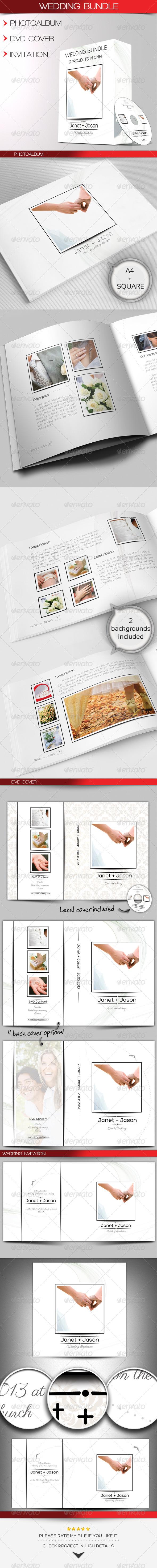 Wedding Bundle - Print Templates