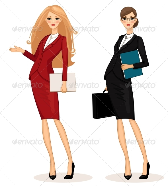 Business Woman - Concepts Business