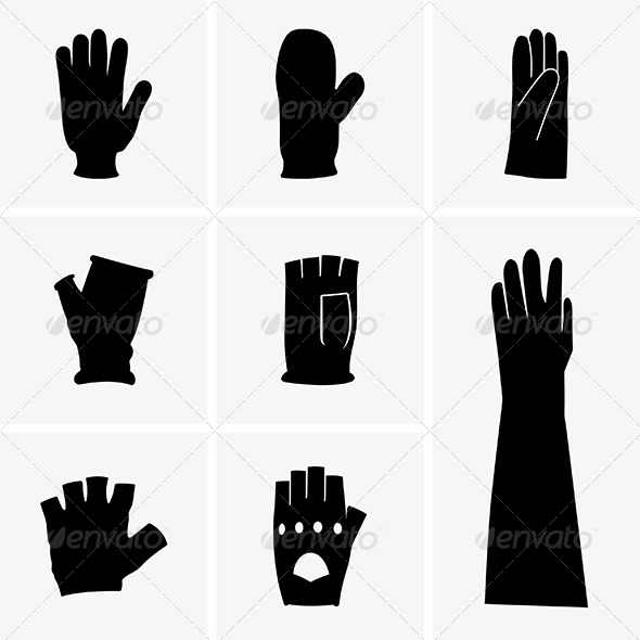 Gloves - Man-made Objects Objects