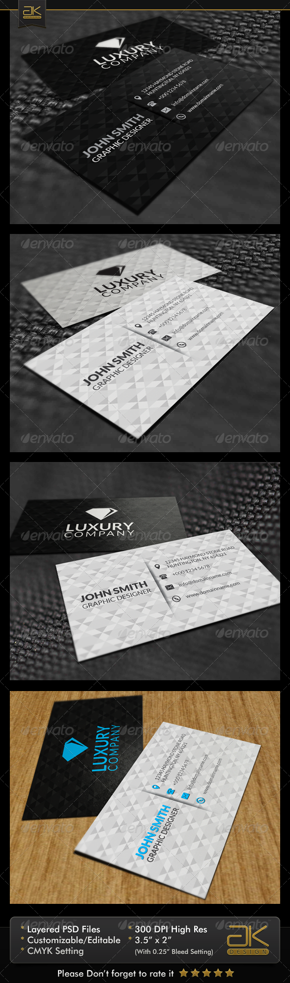 Diamond Business Card - Creative Business Cards