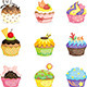 Cupcakes - GraphicRiver Item for Sale