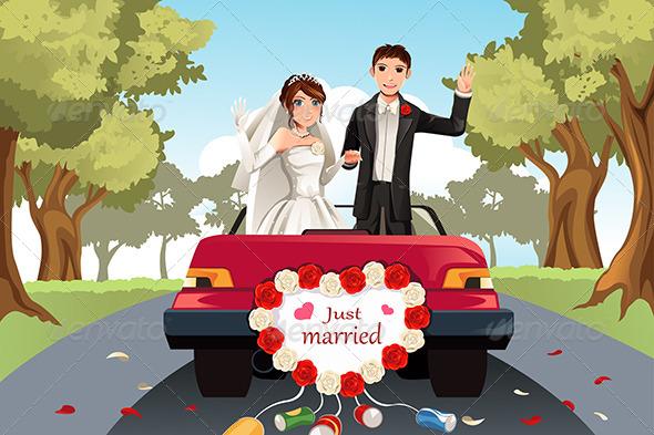 Married Couple - Weddings Seasons/Holidays
