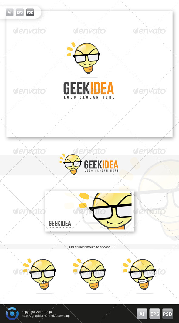 Geek Idea Logo - Objects Logo Templates