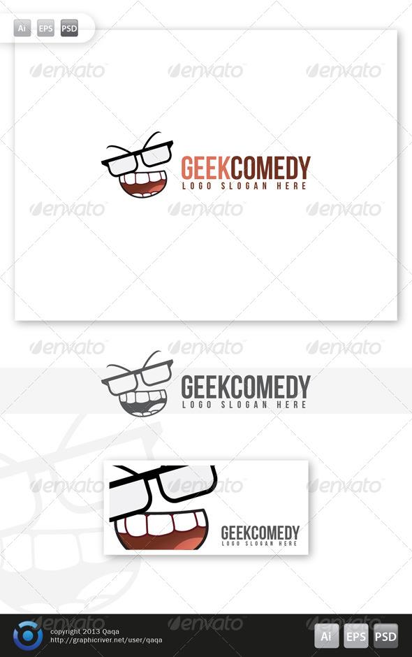 Geek Comedy Logo - Logo Templates