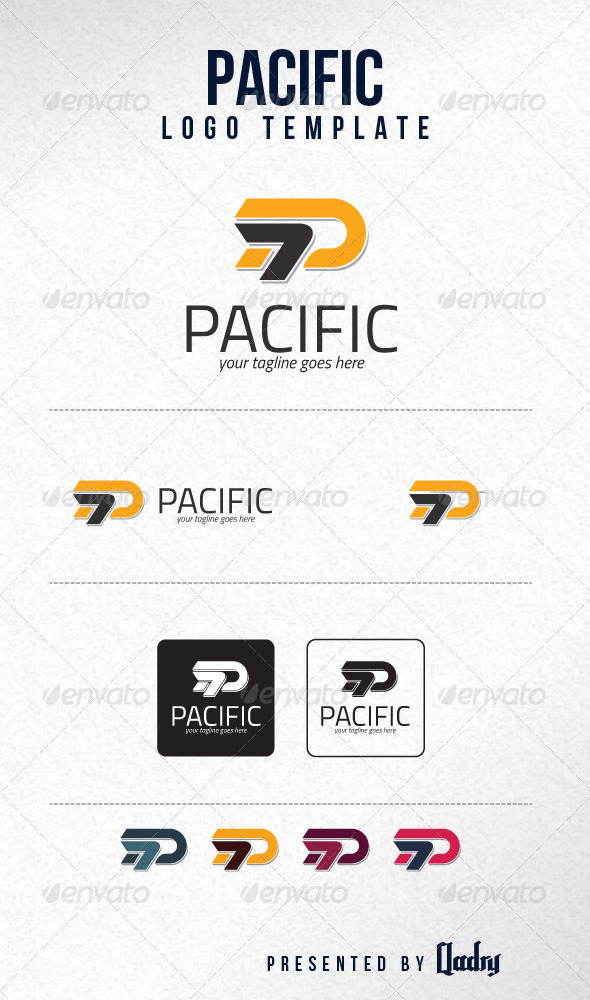 Pacific Logo Template - Letters Logo Templates