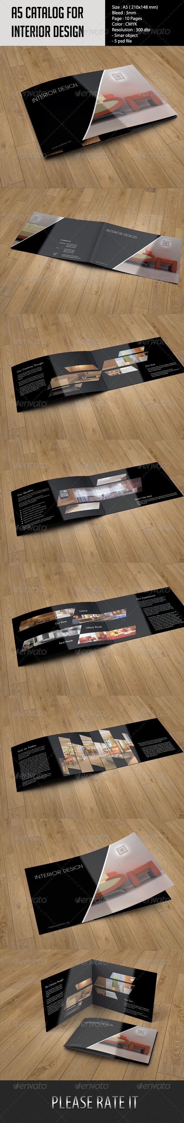 A5 Catalog- Interior Design - Catalogs Brochures
