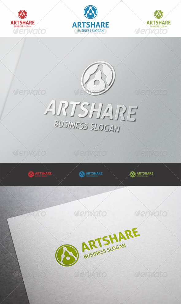 Art Share - Logo A - Letters Logo Templates