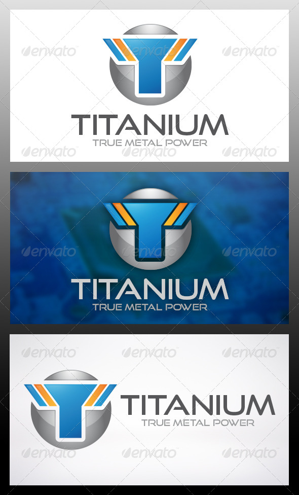 Titan Logo Template - Letters Logo Templates