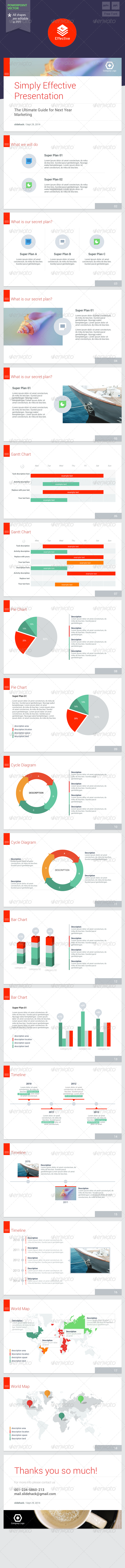Effective - Powerpoint Template - PowerPoint Templates Presentation Templates