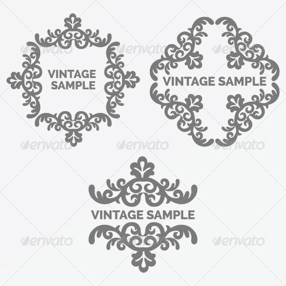 Vintage Frame 67 - Decorative Vectors