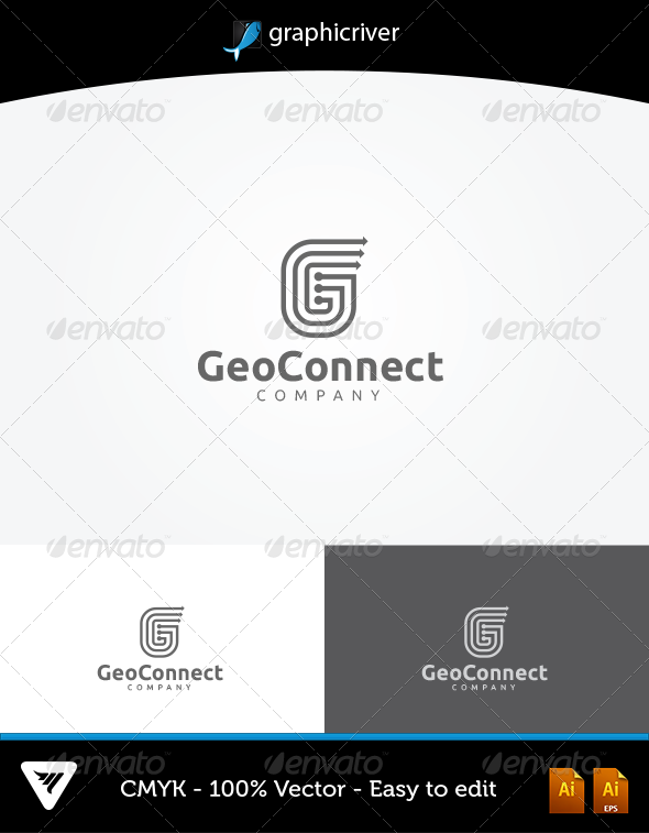 GeoConnect Logo - Logo Templates