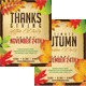 Thanksgiving/Autumn Party Flyer - GraphicRiver Item for Sale