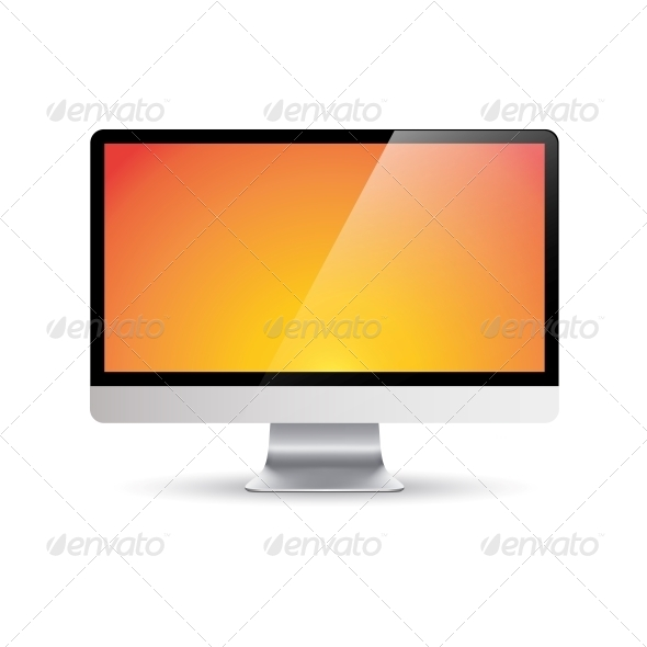 Computer Monitor - Man-made Objects Objects