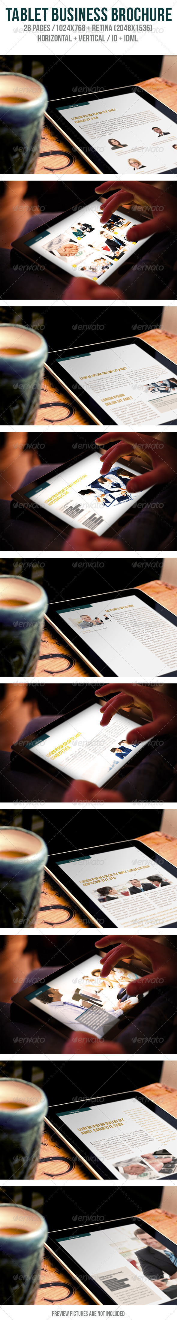 iPad & Tablet Business Brochure - Digital Magazines ePublishing