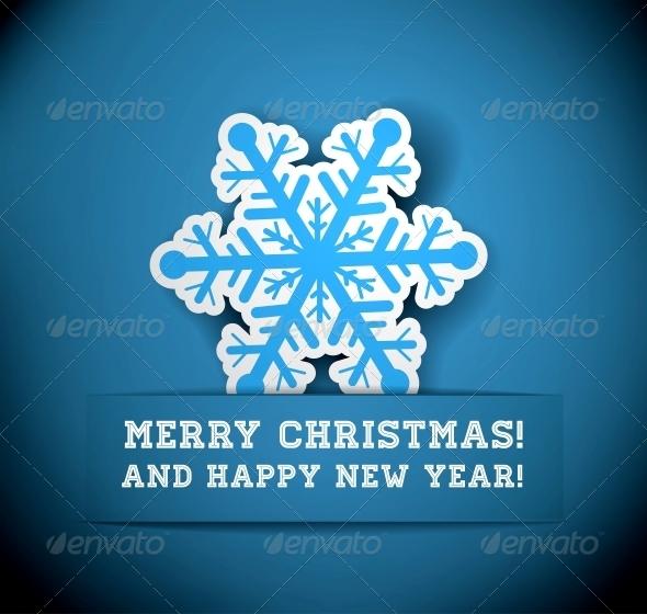 Christmas Snowflake Applique  - New Year Seasons/Holidays