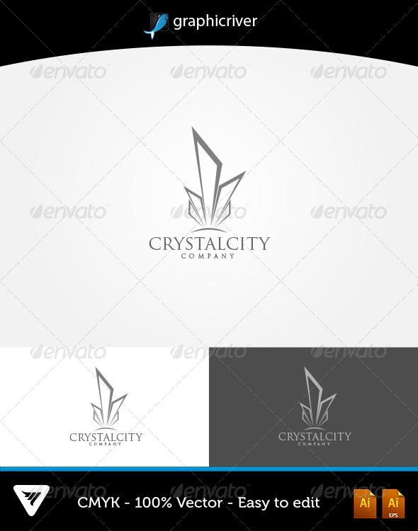 CrystalCity Logo - Logo Templates