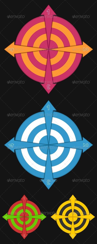 Four Arrows - Decorative Symbols Decorative