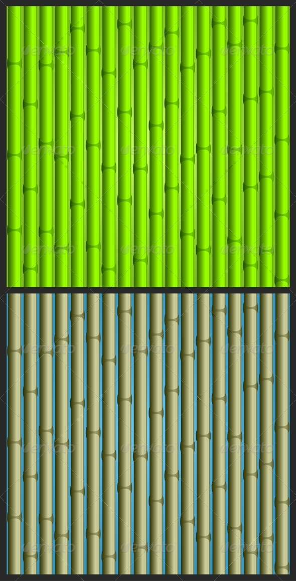 Bamboo Background - Backgrounds Decorative