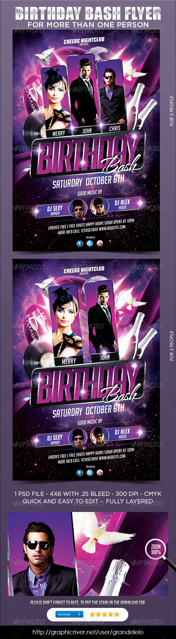 Multiple Birthday Bash - Clubs & Parties Events
