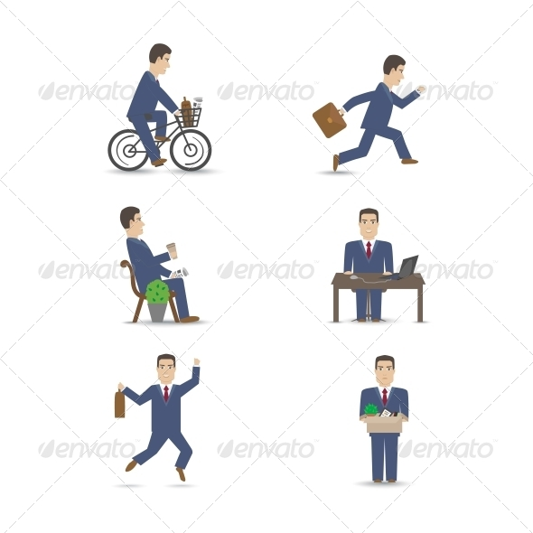 Business People Set - Concepts Business
