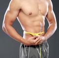 Men with perfect abs