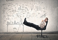 Relaxing Businessman - PhotoDune Item for Sale