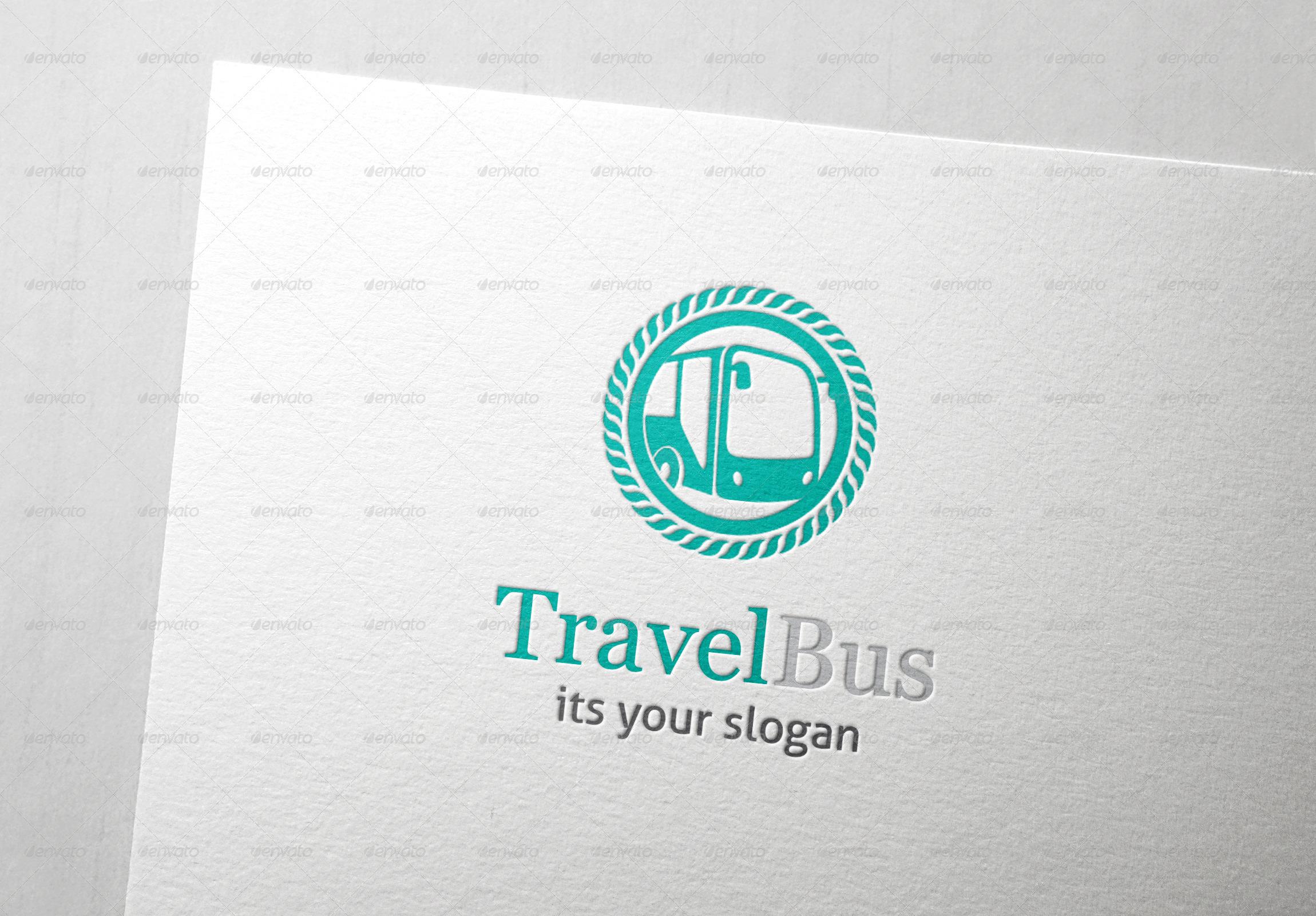 Travel Bus Logo