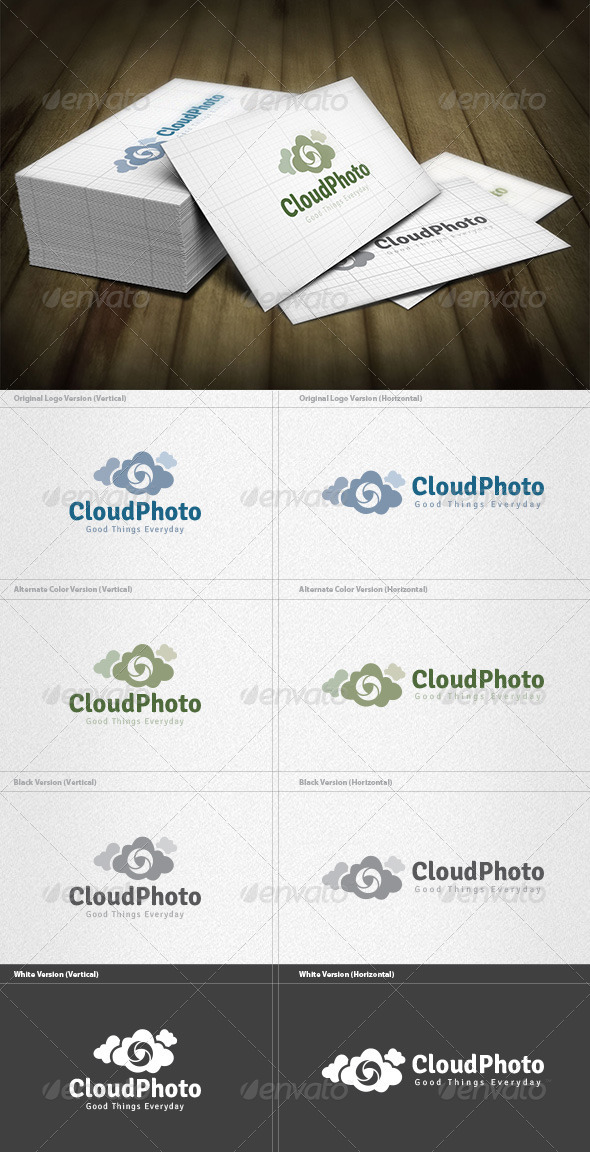 Cloud Photo Logo - Symbols Logo Templates
