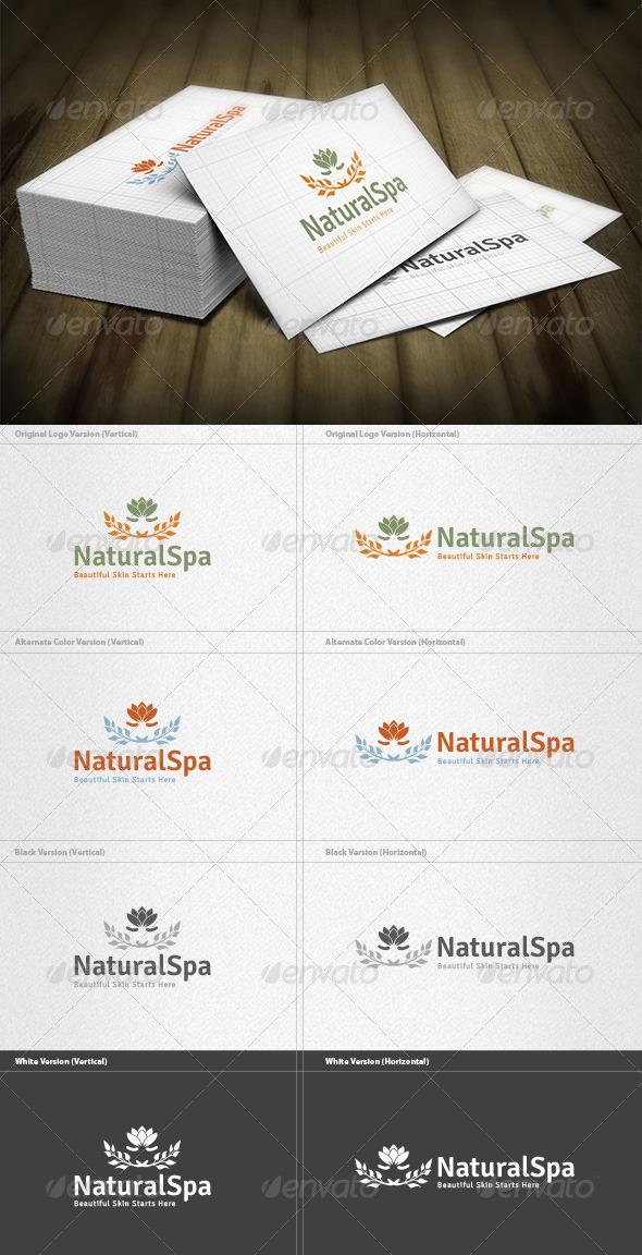 Natural Spa Logo - Nature Logo Templates