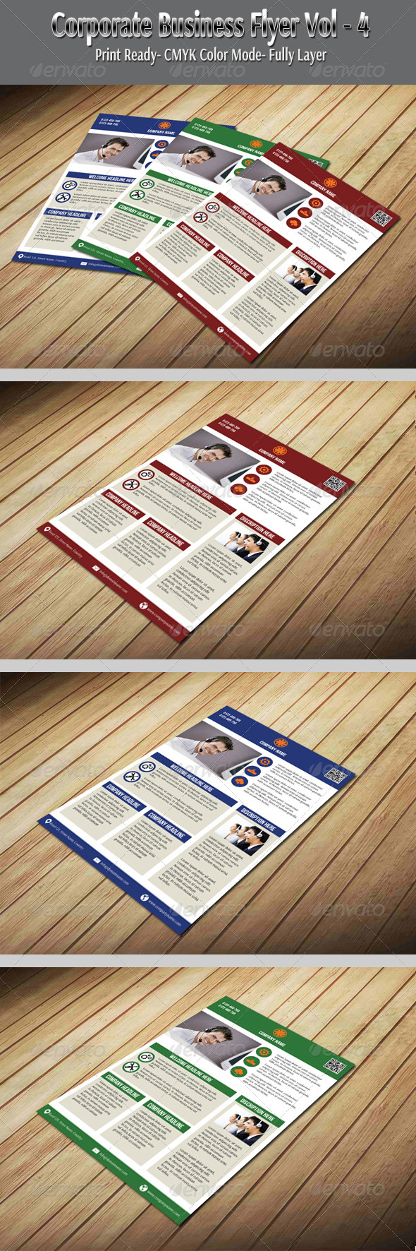Corporate Business Flyer Vol-4 - Corporate Flyers