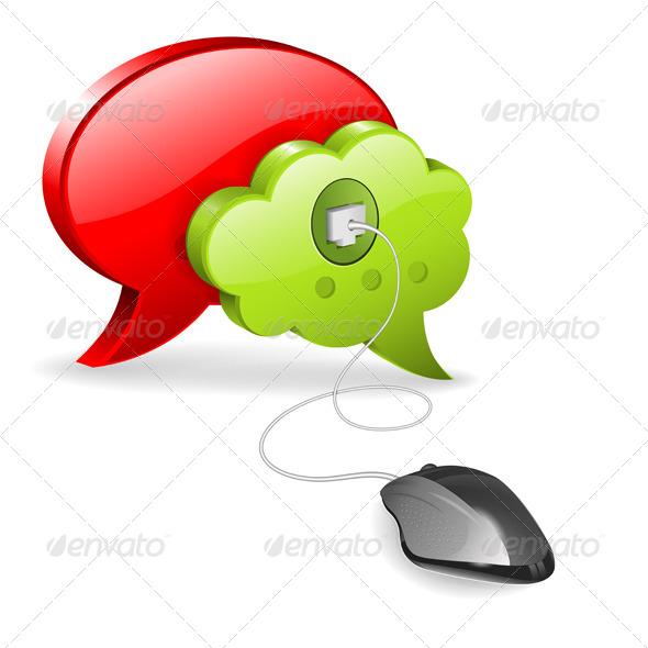 Social Media Concept - Communications Technology