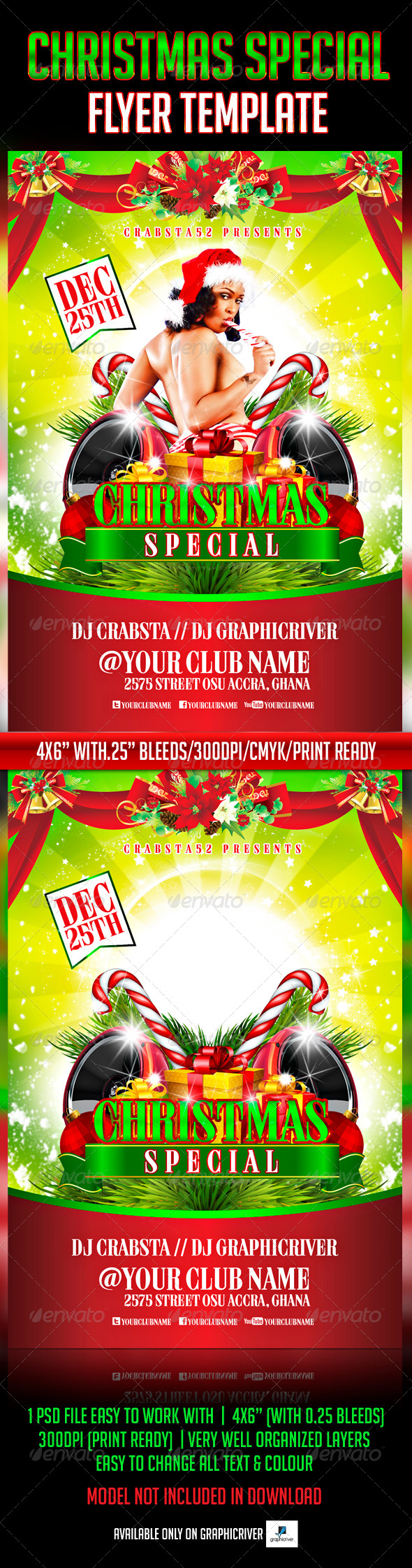 Christmas Special Flyer Template - Events Flyers