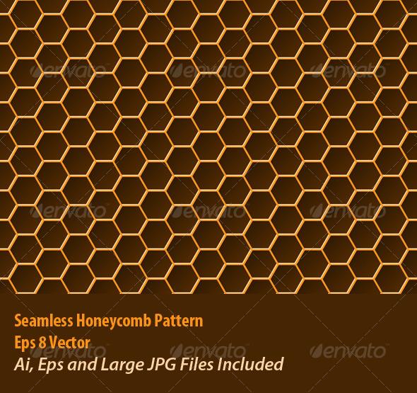 Honeycomb Pattern - Backgrounds Decorative
