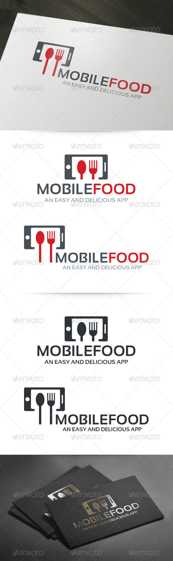 Mobile Food Logo - Food Logo Templates
