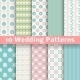 Pastel Wedding Seamless Patterns - GraphicRiver Item for Sale