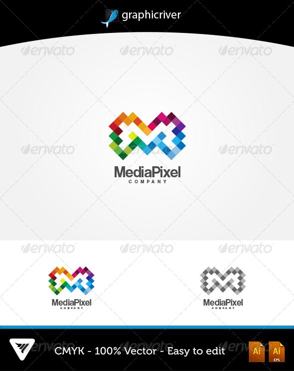 MediaPixel Logo - Logo Templates
