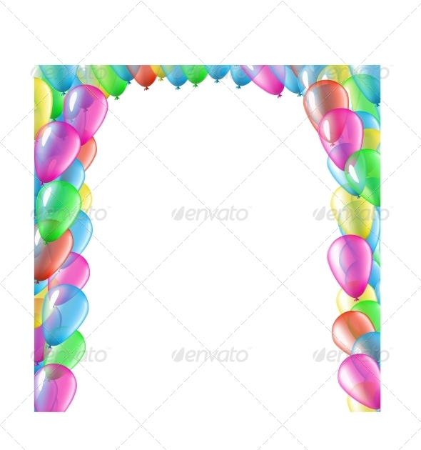Balloon Arc - Birthdays Seasons/Holidays