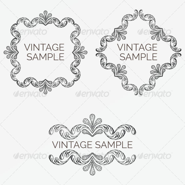 Vintage Frame 71 - Decorative Vectors