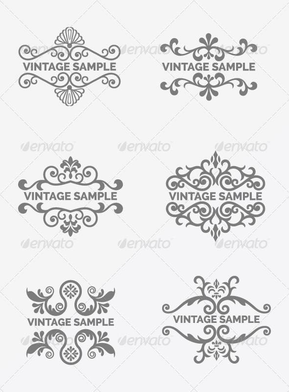 Vintage Frame 73 - Decorative Vectors