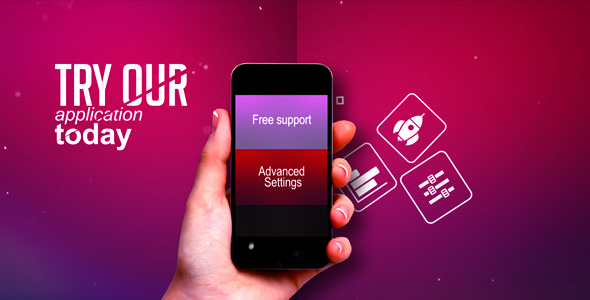 Promote Your App by artembelykh | VideoHive