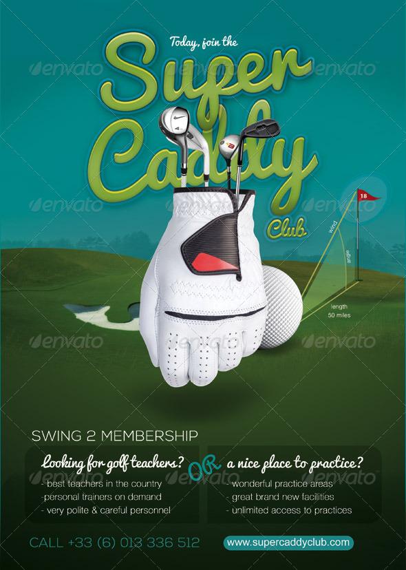 Sport Flyer Golf Caddy Club - Sports Events