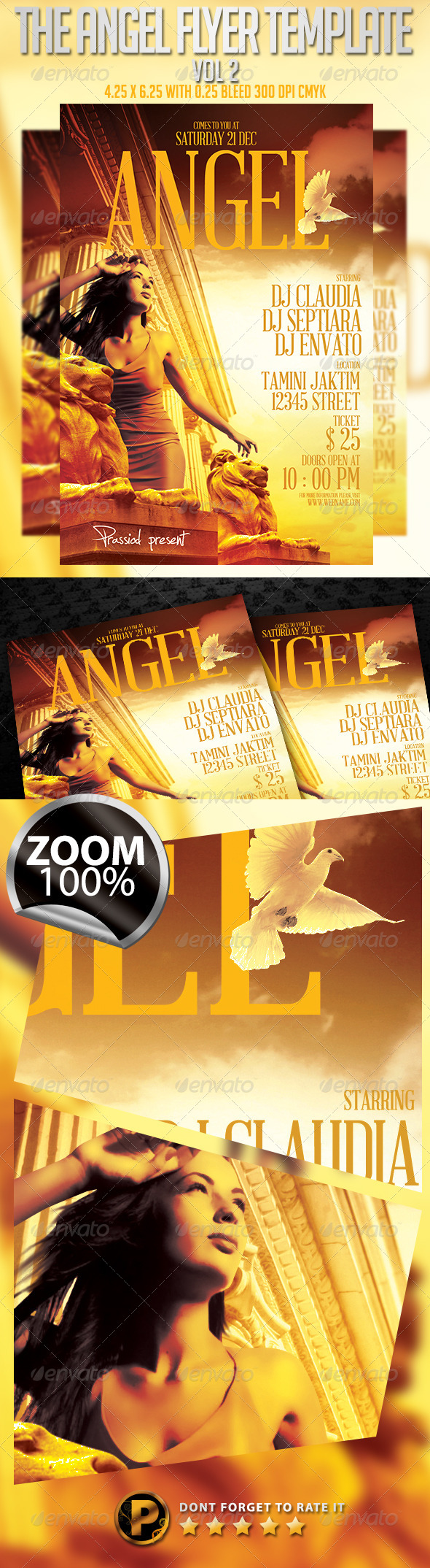 The Angel Flyer Template Vol 2 - Clubs & Parties Events
