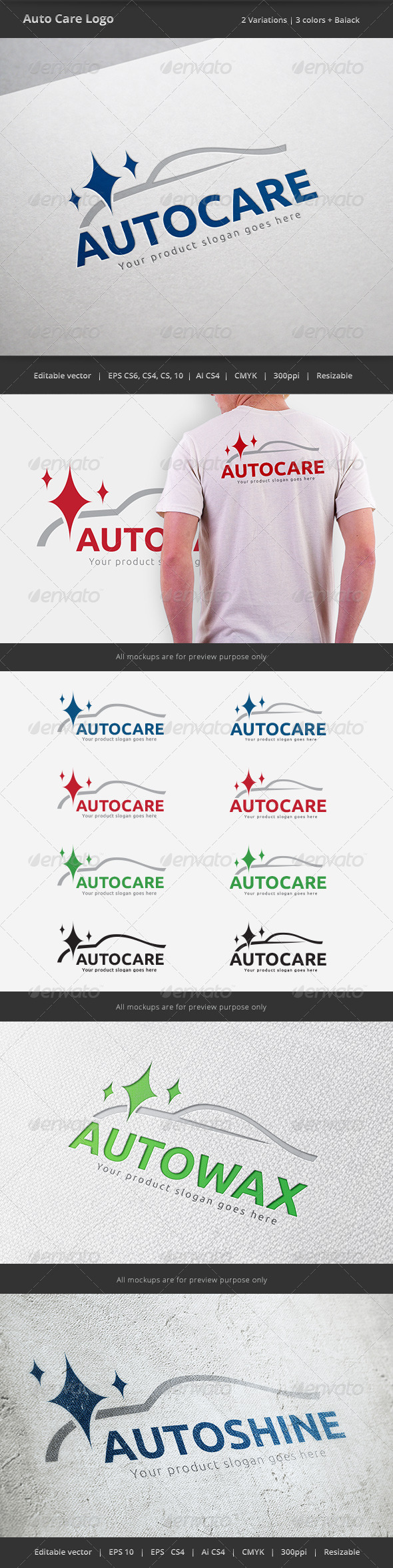 Auto Car Care Logo
