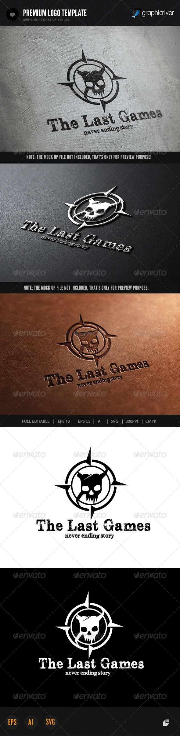 Last Games - Crests Logo Templates