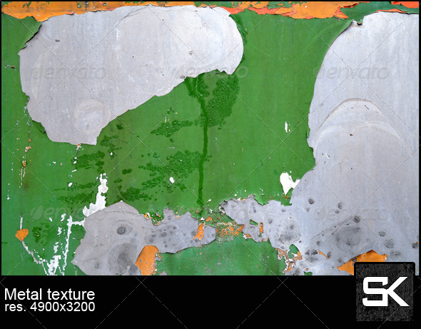 Painted Metal - Metal Textures