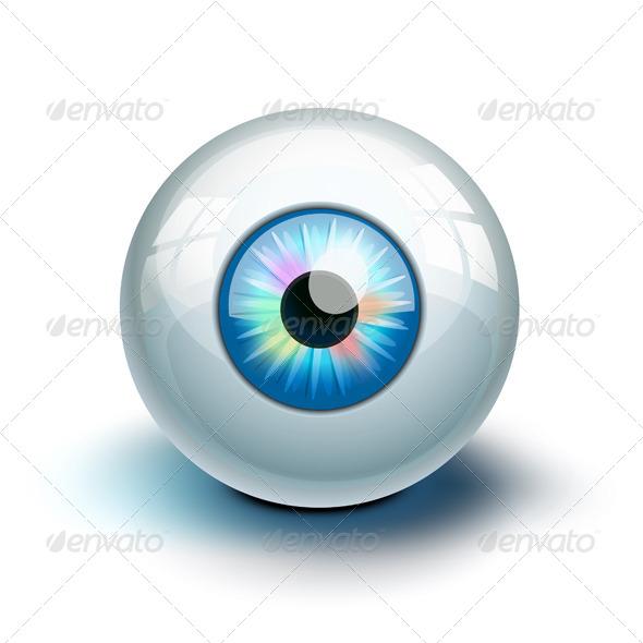 Eye Icon - Health/Medicine Conceptual