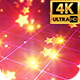 Neon Glowing Stars Tunnel - 45